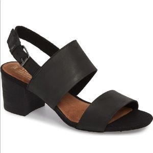 TOMS 🔴 Poppy sandal in black